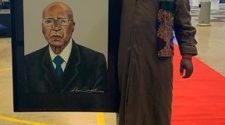Twitter finally approves Rasta's painting of struggle stalwart Andrew Mlangeni