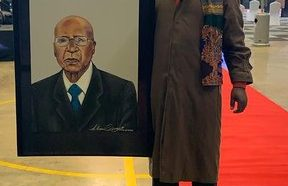 Twitter finally approves Rasta's painting of struggle stalwart Andrew Mlangeni