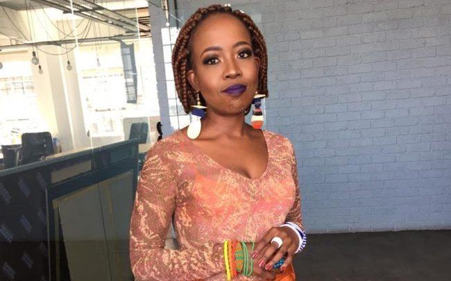 Ntsiki Mazwai who accused DJ Fresh